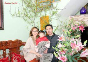 Vợ chồng Trịnh Thị Nhung.